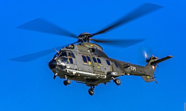 На Кубани разбился боевой вертолет Ми-28