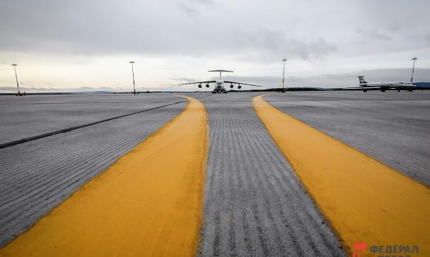 Инцидент случился в екатеринбургском аэропорту Кольцово 10 октября.