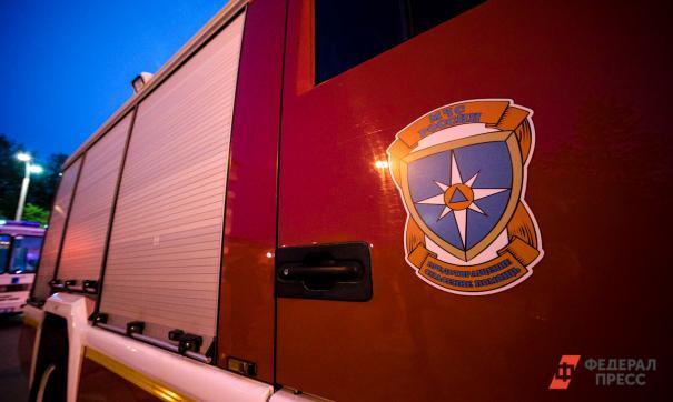 До прибытия сотрудников МЧС были эвакуированы 325 человек.