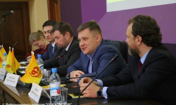 Депутат Законодательного собрания Андрей Жуковский переехал в Омск около год назад.