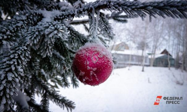Прохожим будут раздавать новогодние шары и открытки