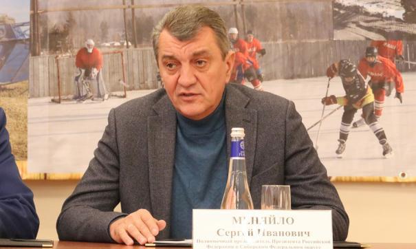 В Тулун Сергей Меняйло прибыл из Братска, где так же накануне провел ряд рабочих встреч