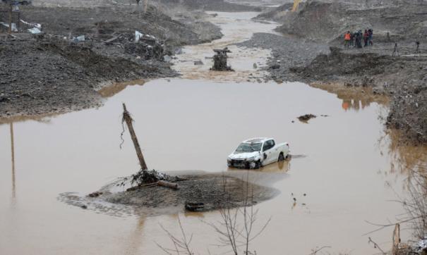 на месте трагедии на реке Сейба