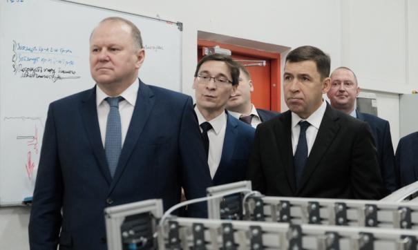 Куйвашев и Цуканов осмотрели «Университетский»
