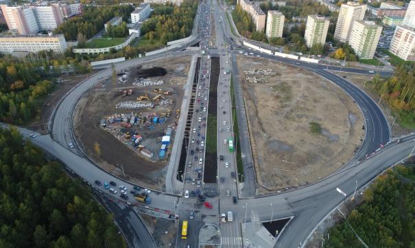 Свердловские эксперты одобрили проект реконструкции развязки на объездной в Екатеринбурге