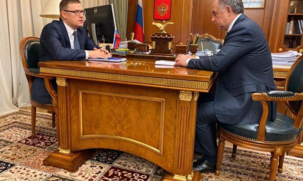 Алексей Текслер и Виталий Мутко обсудили комплексное развитие территорий в Челябинской области