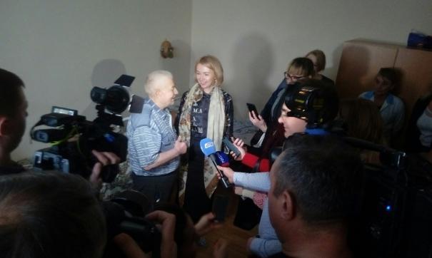 Ирина Гехт пообщалась в жителями пансионата «Радуга Урала»