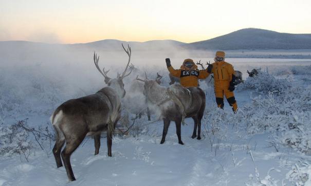 В экспозицию вошли снимки из уникального атласа и полярных экспедиций.