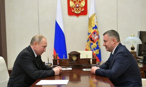 Игорь Кобзев выступил перед правительством Иркутской области