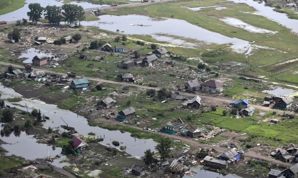Наводнение в Иркутской области - 2019