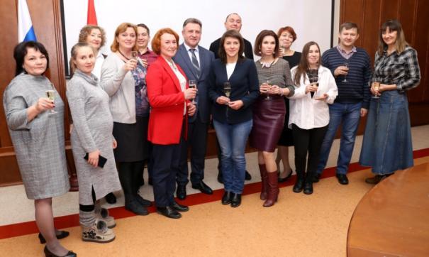 Новосибирским журналистам вручили призы и грамоты