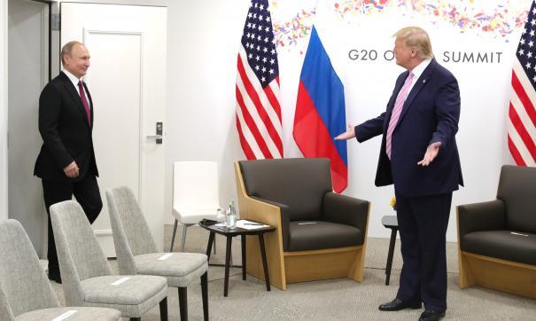 Путин и Трамп обсудили по телефону интересы стран