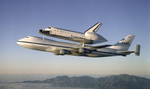 американский самолет Shuttle мог сбросить ядерную бомбу на Москву