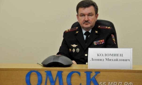 Леонид Коломиец руководил омской полицией с 2016 года