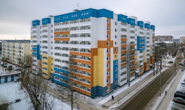 Все квартиры в доме были проданы за две недели