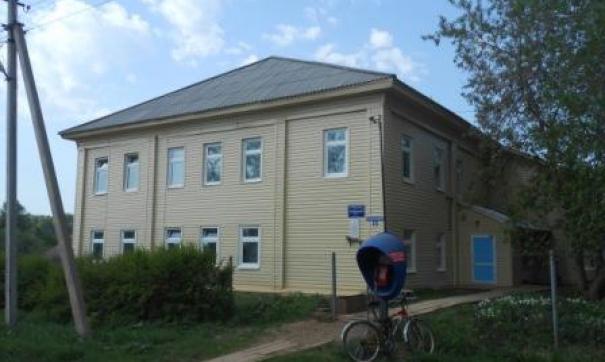 В школе занимаются 36 ребят при проектной мощности 100 человек
