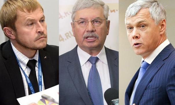 Александр Калинин, Владимир Мякуш и Валерий Гартунг вошли в состав рабочей группы по изменению Конституции.