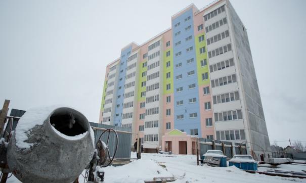 Строительство жилья в Сургутском районе