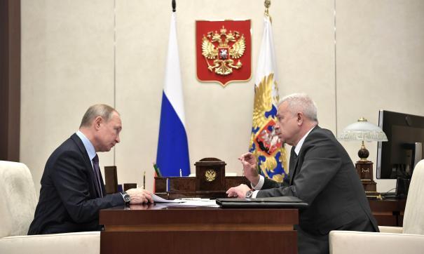 Путин и Алекперов
