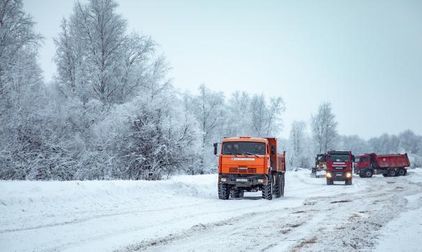 Нефтяники подготовили к эксплуатации зимники на Эргинском кластере