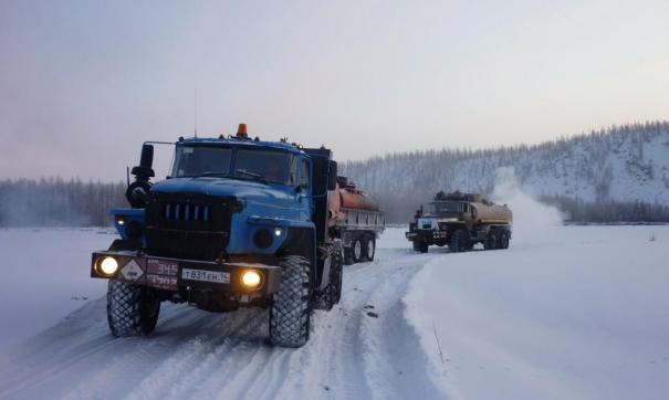 На следующей неделе откроют самый северный зимник на Ямале