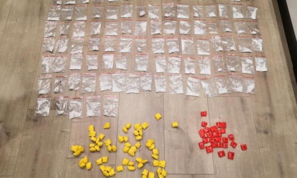 В Калуге полицейские изъяли два килограмма наркотиков