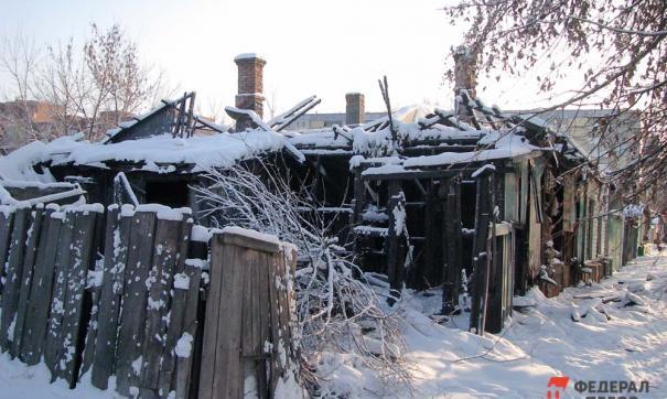 Пожар произошел в Демском районе вечером 21 января