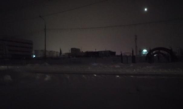 Ямальский город утром погрузился во тьму