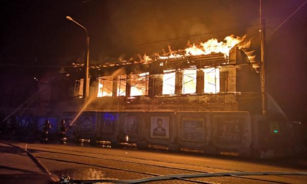 Ущерб от пожара составил 5 млн рублей