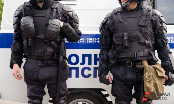 По словам очевидцев, уже задержали несколько человек
