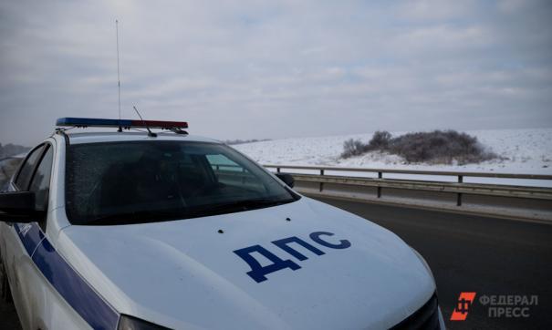 Авария произошла на трассе «Иртыш» в Курганской области