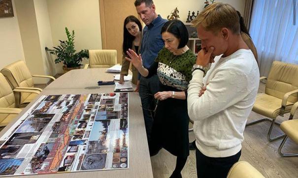 Наталья Котова встретилась с претендентом на пост главного архитектора Челябинска