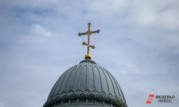 В столице прошел молебен о спасении от коронавируса
