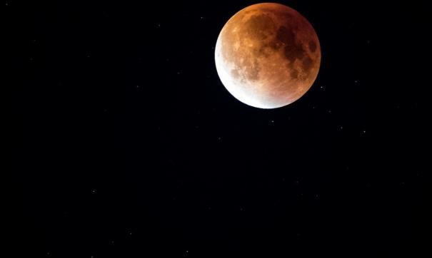 Жители Приморья смогут увидеть лунное затмение