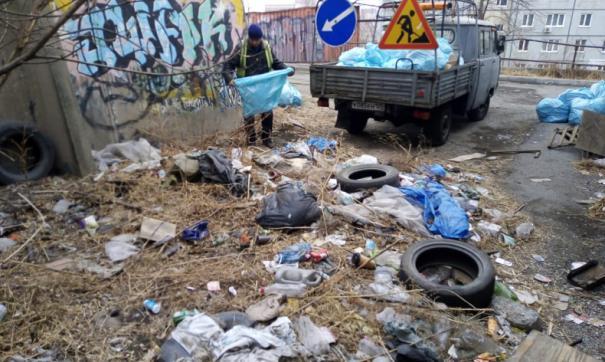 Во Владивостоке произошел сбой мусорной реформы