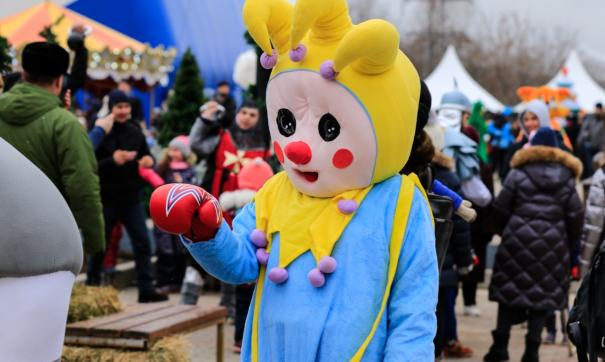 Рождественскую Елку-Сказку, организованную Федерацией бокса России, посетили более 300 тысяч человек