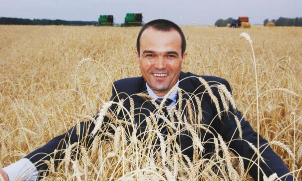 Михаил Игнатьев в пшенице