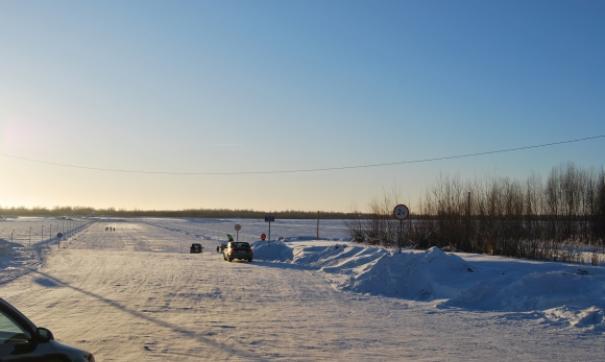 В Томской области открыли все ледовые переправы