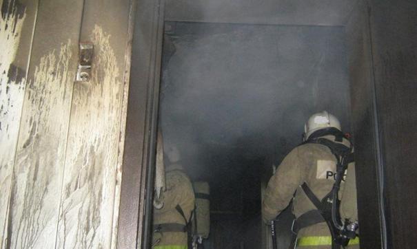 Сгорел похоронный дом в Новосибирске