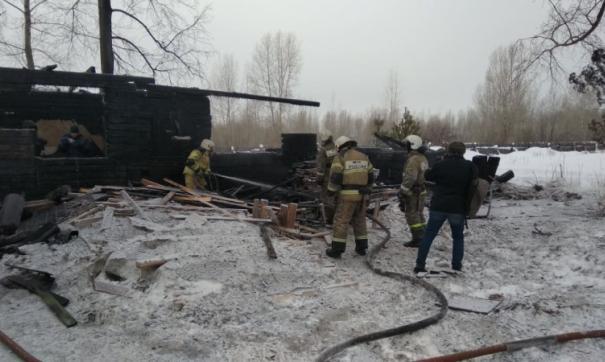 Число жертв пожара в Томской области выросло до двенадцати
