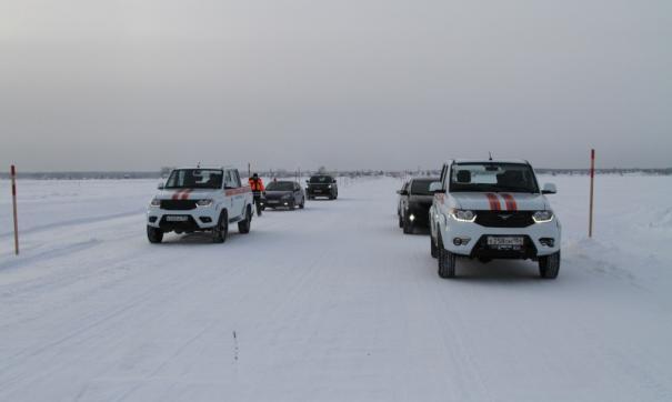 В Новосибирской области открыли первый зимник