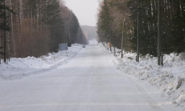Автомобильная дорога была очищена в течении дня