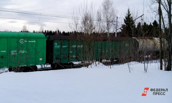 Последствия железнодорожной аварии устраняли сотрудники МЧС