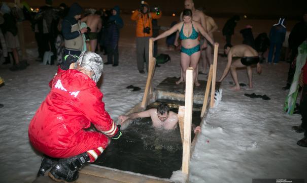 В Екатеринбурге из-за теплой погоды могут отменить Крещенские купания