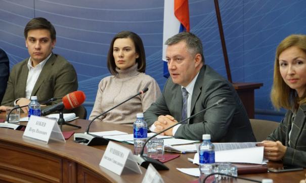 Игорь Кобзев впервые встретился со СМИ после назначения
