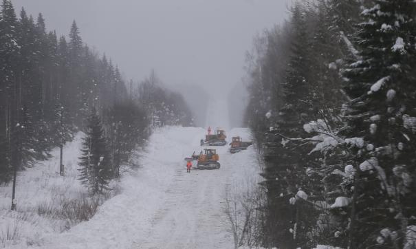 Движение на трассах закрыто из-за неблагоприятных условий