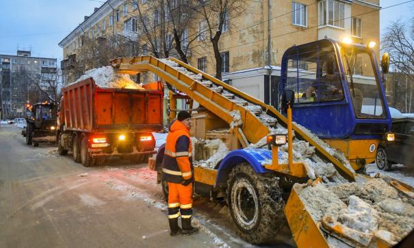 Сегодня утром в Перми пришли обильные снегопады