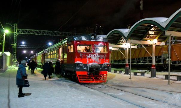 Прекращено движение электричек между станциями Пермь-1 и Пермь-2