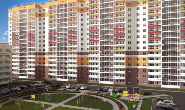 Спроектировано 4 подъезда и 318 квартир