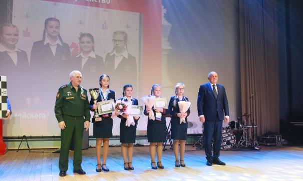 Учащиеся Пансиона воспитанниц Минобороны выиграли Всеармейский чемпионат по шахматам